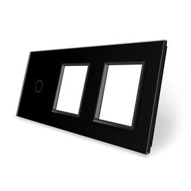 Panel szklany 1+G+G czarny WELAIK