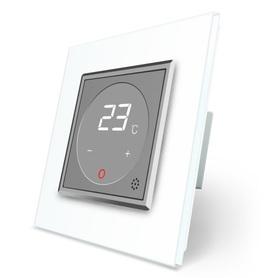 Termostat pokojowy regulator temperatury 01TM-15/SR-11 komplet z ramką szklaną