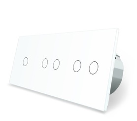 Włącznik dotykowy 1+2+2 zestaw