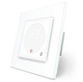 Termostat pokojowy regulator temperatury 01TM-11 komplet z ramką szklaną LIVE ON LOVE