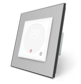 Termostat pokojowy regulator temperatury 01TM-11/SR-15 komplet z ramką szklaną LIVE ON LOVE