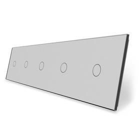 Panel szklany 1+1+1+1+1 szary