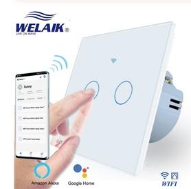 Włącznik roletowy / żaluzjowy WIFI zestaw biały WELAIK ®