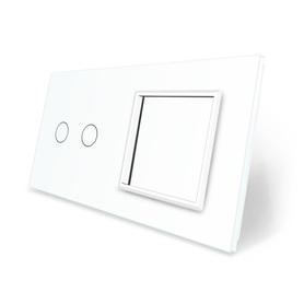 Panel szklany 2+G biały WELAIK