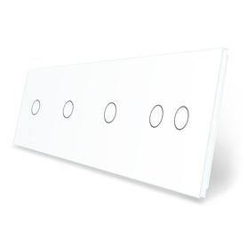 Panel szklany 1+1+1+2 biały WELAIK