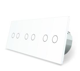 Włącznik dotykowy 2+2+2 zestaw