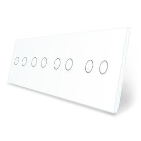Panel szklany 2+2+2+2 biały WELAIK