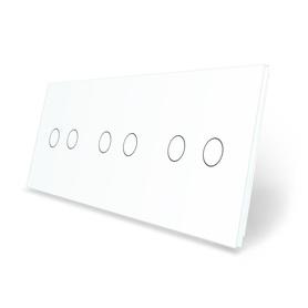 Panel szklany 2+2+2 biały WELAIK