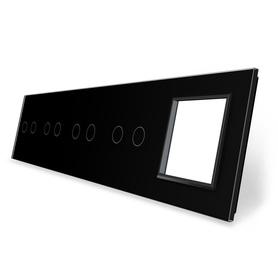 Panel szklany 2+2+2+2+G czarny WELAIK