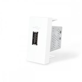Moduł ładowarki USB 2,1A biały