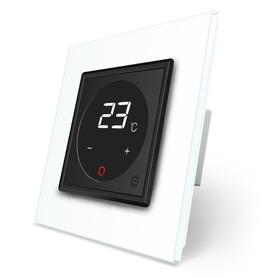 Termostat pokojowy regulator temperatury 01TM-12/SR-11 komplet z ramką szklaną LIVE ON LOVE