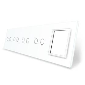 Panel szklany 2+2+2+2+G biały WELAIK