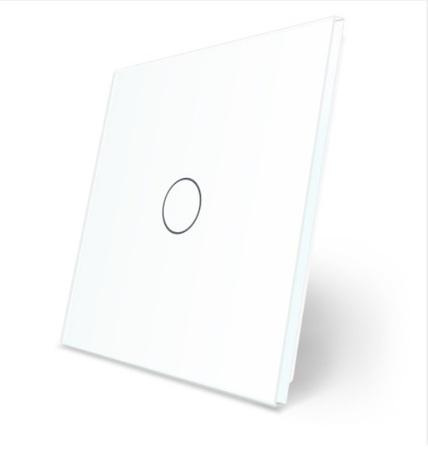 P1 Pojedynczy biały panel szklany WELAIK (1)