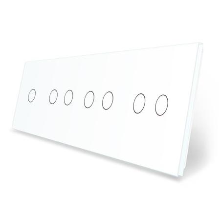 Panel szklany 1+2+2+2 biały WELAIK (1)