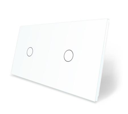 Panel szklany 1+1 biały WELAIK (1)
