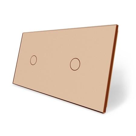 Panel szklany 1+1 złoty (1)