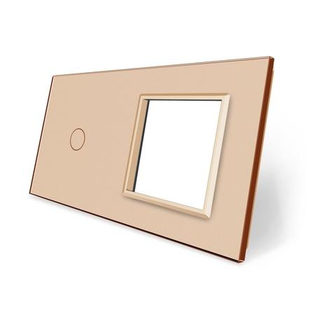 Panel szklany 1+G złoty (1)