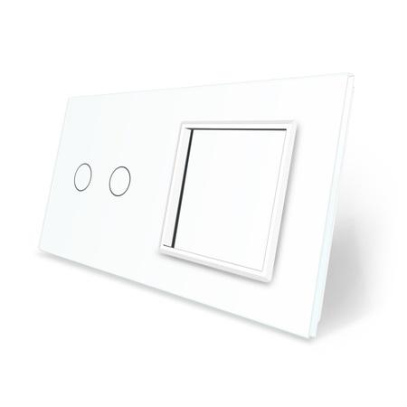 Panel szklany 2+G biały WELAIK (1)