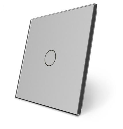 Pojedynczy panel szklany szary P1-15 WELAIK ® (1)