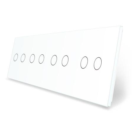 Panel szklany 2+2+2+2 biały WELAIK (1)