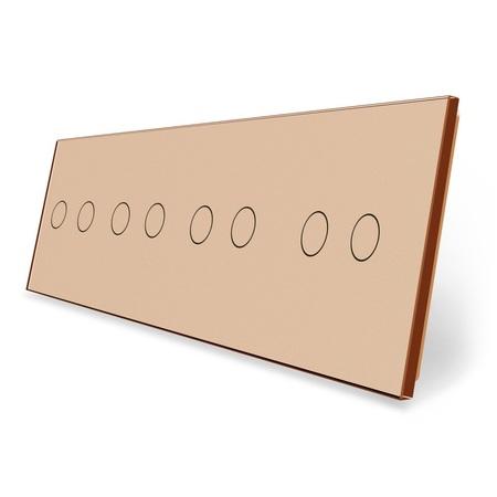 Panel szklany 2+2+2+2 złoty (1)